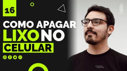 YouTube Thumbnail Creator for a Brazilian Tech Channel 4176b-el1