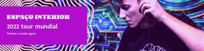 Electronic Music-Themed Patreon Cover Design Maker 3871b