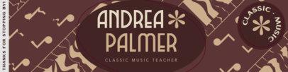 Patreon Cover Maker for a Classic Music Teacher 3874d