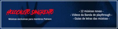 Musician Patreon Cover Design Generator for a Brazilian Creator 3868b