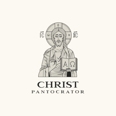 Online Logo Maker for a Roman Catholic Church with Holy Imagery 4510