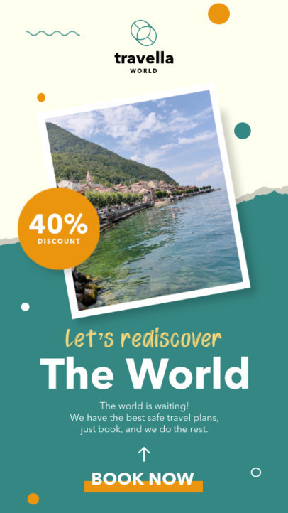 Instagram Story Template for Travel Agency Offers 4247-el1