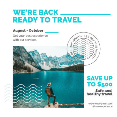 Instagram Post Design Creator for Travel Agencies 4253-el1