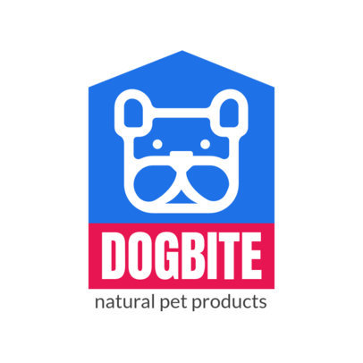 Online Logo Maker for a Natural Pet Products Store 4239-el1