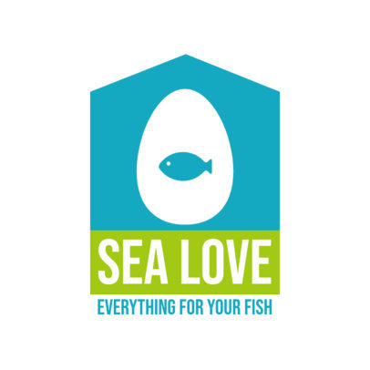 Pet Store Logo Creator Featuring a Fish Icon 4239b-el1