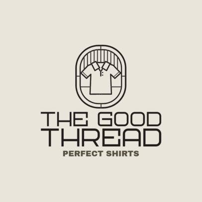 Clothing Brand Logo Maker for POD Stores 4522j