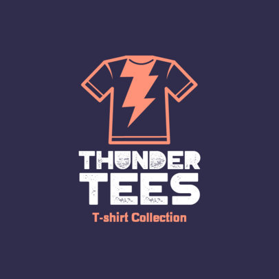 Logo Generator for T-Shirt Sellers With a Cool Simple Icon 4522m