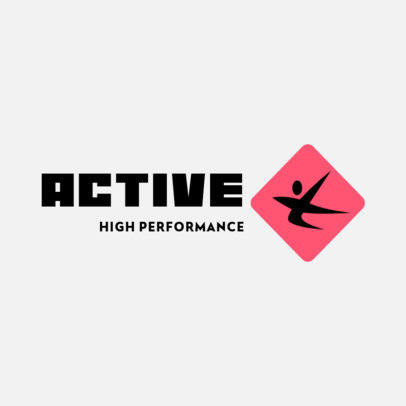Training Equipment Brand Logo Maker with an Abstract Graphic 4530e