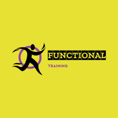 Online Logo Template for a Functional Training Center 4530k