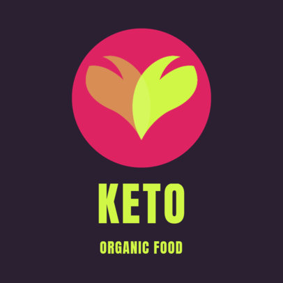 Logo Maker for a Keto Products Online Store 4530l