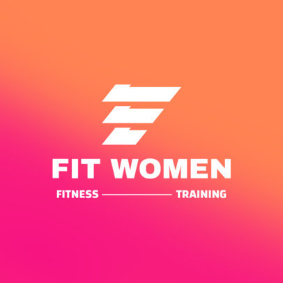 Logo Creator for a Female Activewear Brand 4528c