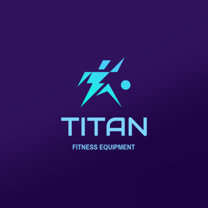 Logo Generator for a Dropshipping Fitness Equipment Store 4528d