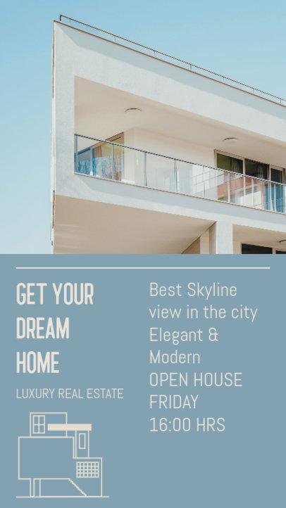 Instagram Story Design Maker for Luxury Real Estate Agents 3905g
