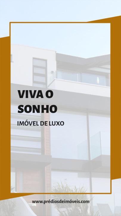 Minimal Instagram Story Design Generator for Luxury Real Estate Agents 3906f