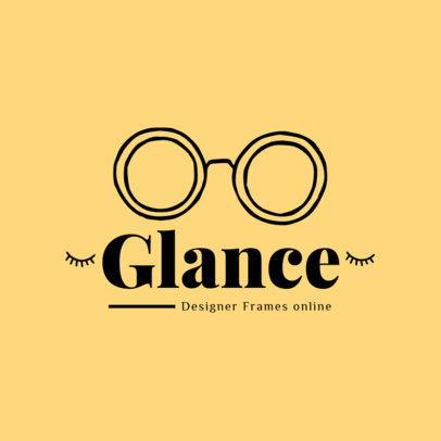 Logo Maker for a Glasses Designer 4263d-el1