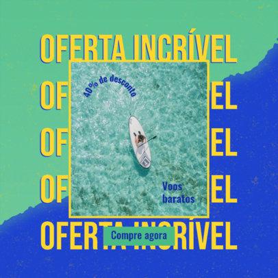 Semana do Brasil-Themed Ad Banner Maker for a Travel Agency 3936a