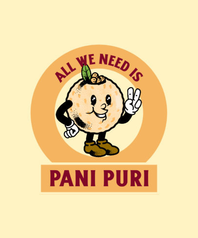 T-Shirt Design Maker for Indian Food Enthusiasts  3943b