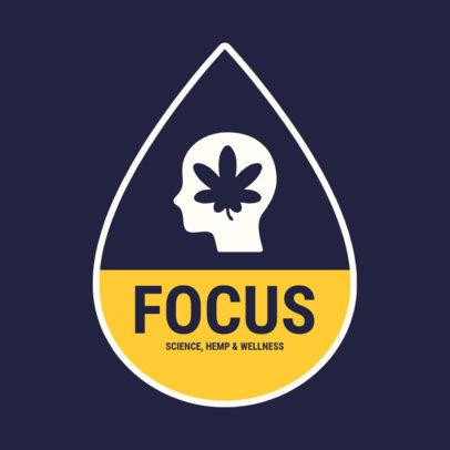 Online Logo Maker for a Focusing-Boost CBD Product 4310b-el1