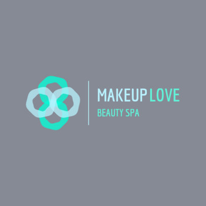Modern Logo Maker for a Spa Featuring an Abstract Graphic 4602B