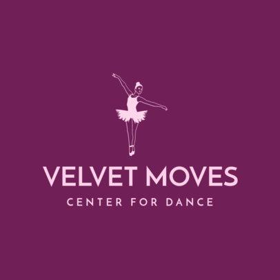 Ballet-Themed Logo Maker for a Dance Institution 4605d