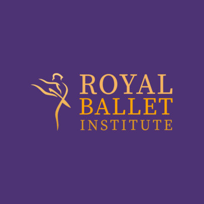Logo Template for a Royal Ballet Institute 4604f