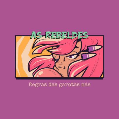 Comic Book-Inspired Logo Maker for Trendy Gamers 4612