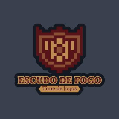 8-Bit Logo Maker for Fantasy and Adventure Games 4625