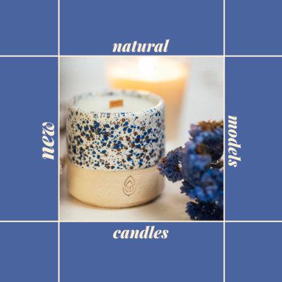 Instagram Post Generator for Handmade Organic Candles Brands 4374f-el1