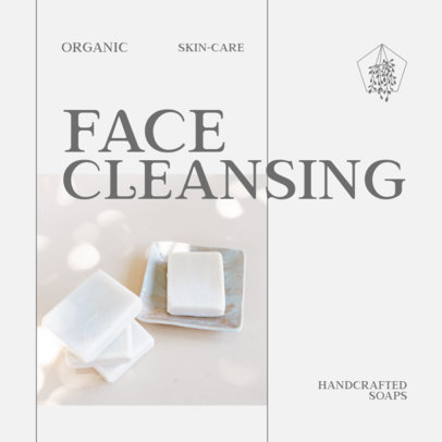 Instagram Post Creator for a New Face Cleansing Soap 4333b-el1