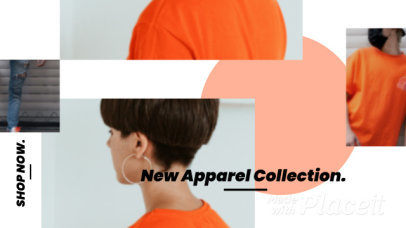 Intro Video Template for a New Apparel Collection Advertisement 328b 4047