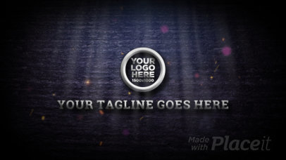 Intro Video Template Featuring Animated Particles and Fire Sparks 3163-el1