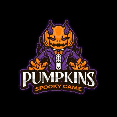 Gaming Logo Maker Featuring Spooky Character Illustrations 4406-el1