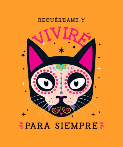 T-Shirt Design Creator to Celebrate Dia de Muertos 4105c