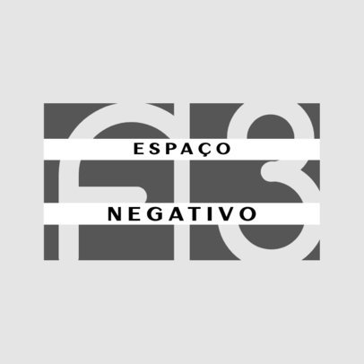 Negative Space-Themed Logo Generator with Modern Layout 4675c