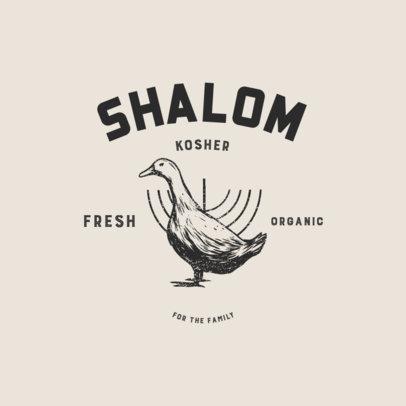 Logo Maker for a Kosher Meat Business 4700
