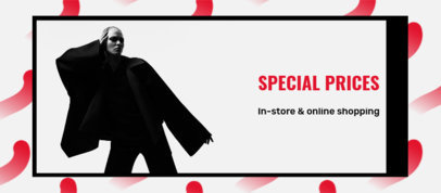 Facebook Cover Generator Featuring a Black Friday Promo and an Abstract Background 4133b