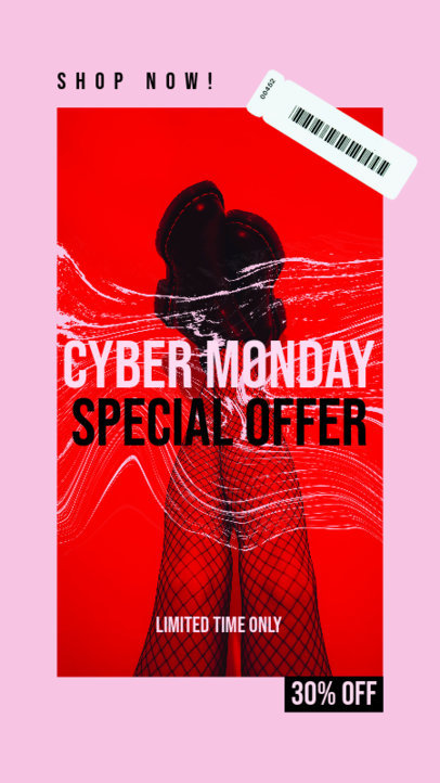 Bold Instagram Story Creator to Announce a Special Cyber Monday Offer 4145f