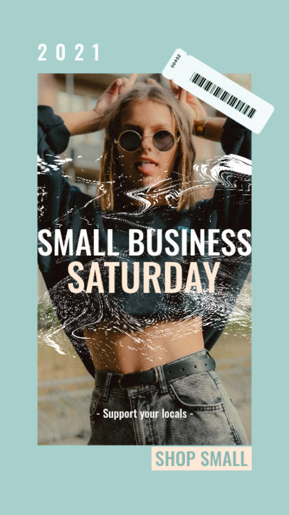 Facebook Story Generator Reminding to Support Small Businesses 4145g