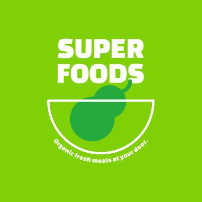 Logo Creator for a Comany Delivering Healthy Meals 4489a-el1