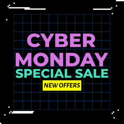 Ad Banner Maker for Cyber Monday Deals 4144