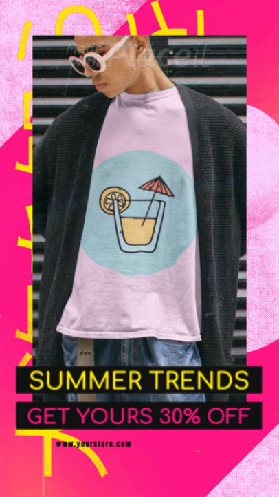 Instagram Story Video Generator for a Streetwear Brand 2204a 4176