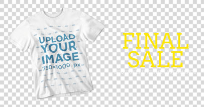 Transparent Simple Facebook Ad Template - Facebook Ad Maker for T-Shirts 1122