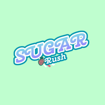 Candy Store Logo Maker Inspired by Barbie 4711e