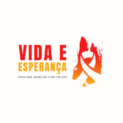 Logo Creator for a Foundation Helping Young People with AIDS 4717c