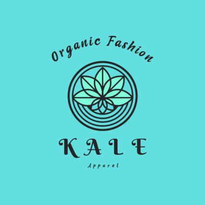 Simple Logo Maker for Organic Fashion Brands 4716d