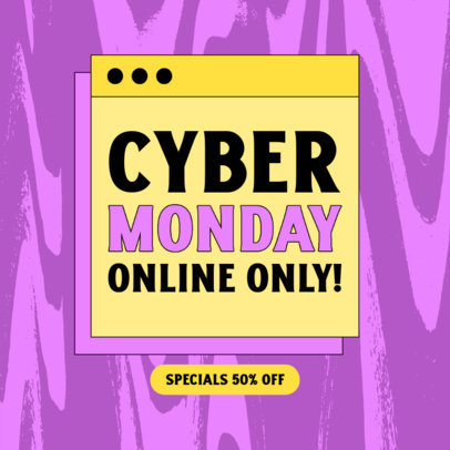 Instagram Post Maker to Announce Special Cyber Monday Deals 4147d