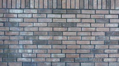 Poster Video Mockup on a Bricks Wall a13775