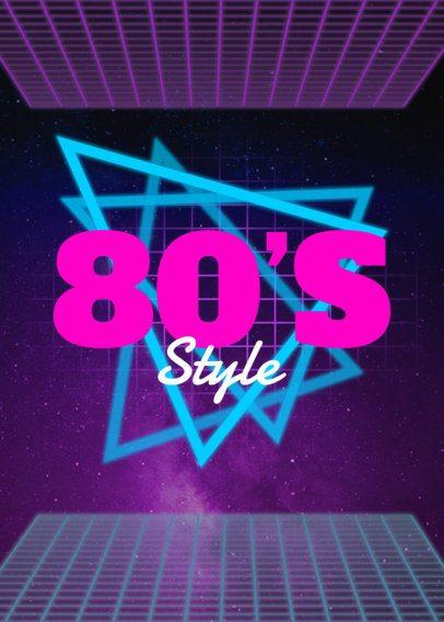 80's T-Shirt Design Template 21