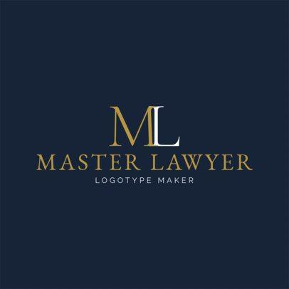 Law Firm Logo Maker a1096