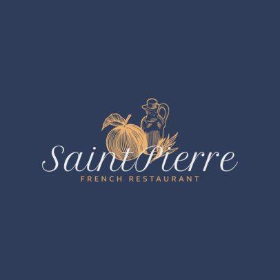 Logo Maker for French Restaurants 1219